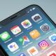 Illustration d'iPhone X sur son écran d'accueil