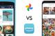 Illustration Google Photos vs Amazon Photos